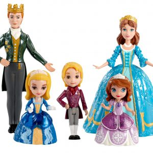 Disney Sofia The First Royal Family Small Doll Set