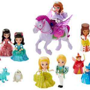 Disney Sofia The First Royal Prep Figure Collection (Discontinued by manufacturer)