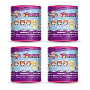 Disney Sofia the First Fash'ems Series 1 Set of 4 Random Figures