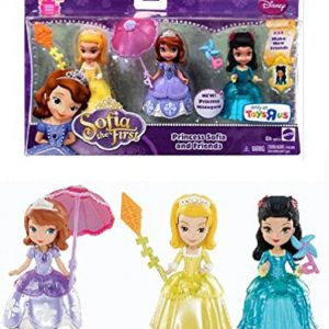 Disney Sofia the First Princess Sofia & Friends Figures Set Amber & Hildegard