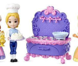 Disney Sofia the First Sofia, Amber and James Baking Playset