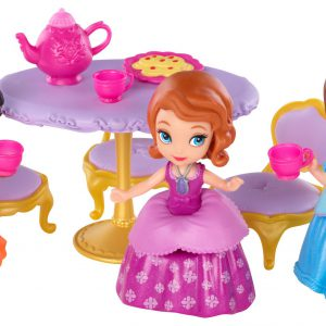 Disney Sofia the First Sofia, Ruby and Jade Tea Party Playset