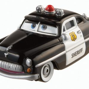 Disney/Pixar Cars, 2015 Radiator Springs Die-Cast Vehicle, Sheriff #3/19, 1:55 Scale