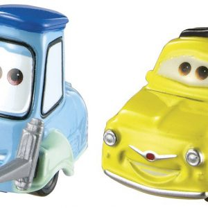 Disney/Pixar Cars, 2015 Radiator Springs Die-Cast Vehicles, Luigi & Guido #4,5/19, 1:55 Scale
