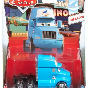 Disney/Pixar Cars Deluxe Oversized Die-Cast Vehicle, Gray Semi