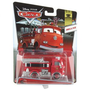 Disney/Pixar Cars Deluxe Oversized Die-Cast Vehicle, Red