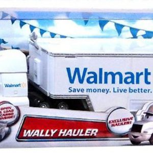 Disney/Pixar Cars Exclusive Die-Cast Vehicle Wally Hauler Walmart 1:55 Scale