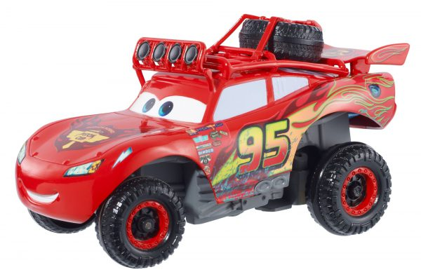 Disney/Pixar Cars RS 500 Wild Racer Lightning McQueen Pullback Vehicle