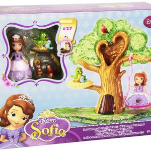 Disneys Sofia the First Forest Playset Works with Magical Talking Castle