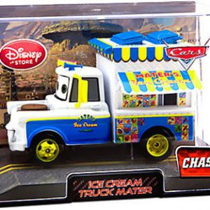 Dubblebla Disney / Pixar Cars 2 Movie Exclusive 1:48 Die Cast Car in Plastic Case Ice Cream Truck Mater