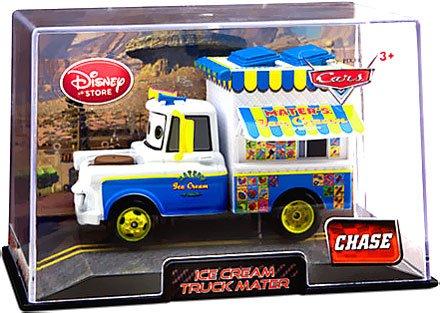 Dubblebla Disney / Pixar Cars 2 Movie Exclusive 1:48 Die Cast Car in Plastic Case Ice Cream Truck Mater