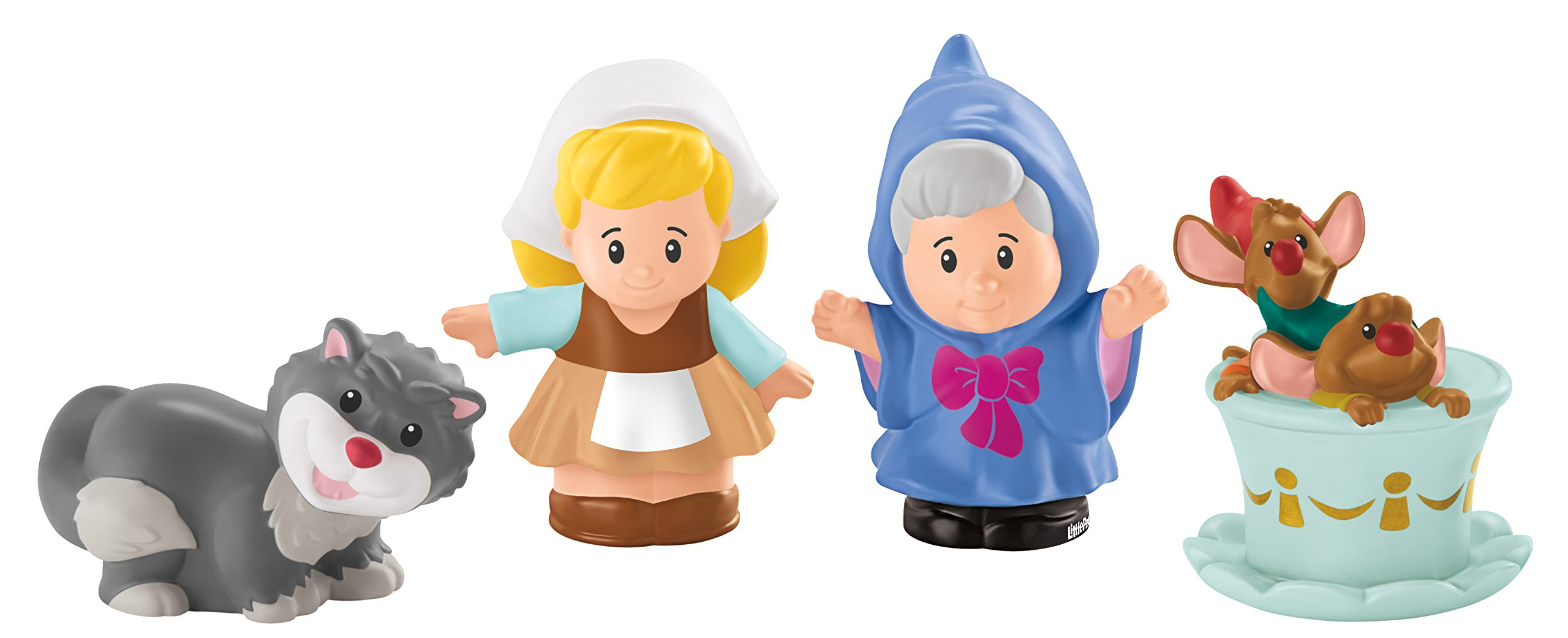 Fisher Price Little People Disney Princess Cinderella with Gus Mouse