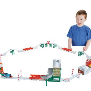 Fisher-Price Thomas & Friends TrackMaster, Holiday Cargo Delivery Set