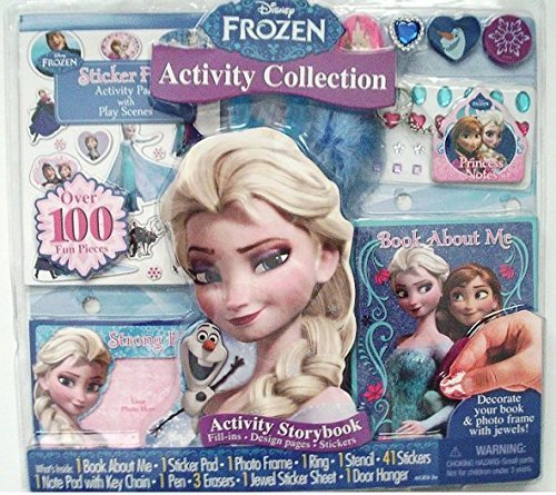 Frozen Gifts for Girls: 100 Piece Frozen Activity Collection - Gift Set