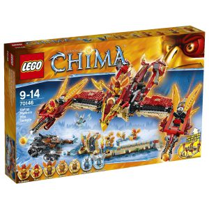 LEGO Legends of Chima Flying Phoenix Fire Temple Kids Building Play Set | 70146