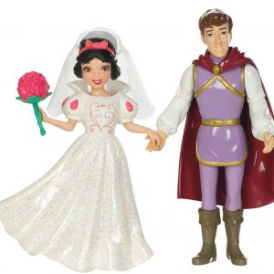 Mattel Disney Princess Fairytale Wedding Snow White and The Prince Doll Set