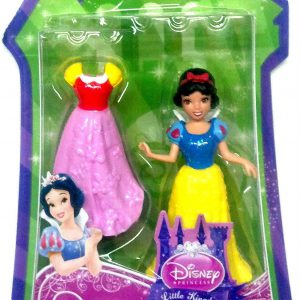 Mattel, Disney Princess, Little Kingdom Mini Doll, Snow White, 3.5 Inches