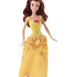 Mattel Disney Sparkle Princess Belle Doll