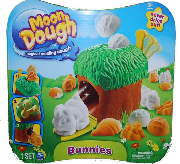 Moon Dough Bunny Tree