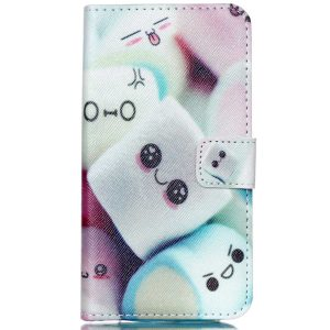 Moto G 3rd Generation Case, Firefish High Quality PU Leather Case Wallet Flip Stand Case [Flap Closure] [Card Slots] Protective Cover for Motorola Moto G G3 (3rd Gen, 2015) + One Stylus Pen -Cute cake