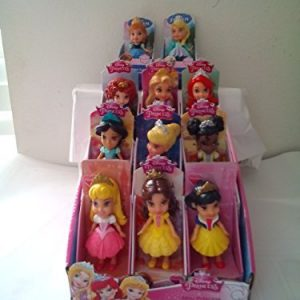 My First Disney Mini Toddler Dolls, Anna, Elsa, Jasmine, Aurora, Ariel, Cinderella, Belle Merida, Rapunzel, Snow White Tiana.