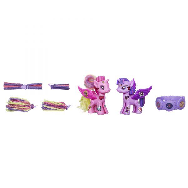 My Little Pony Pop Princess Twilight Sparkle and Princess Cadance Deluxe Style Kit