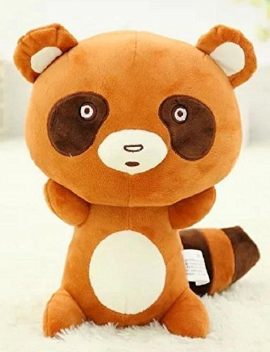 NUWA Japanese Anime Gekkan Shoujo Nozaki-kun Stuffed Figure Sakura Chiyo Raccoon Dog Plush Doll 30cm