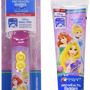 Oral-B Crest and Pro-Health Stages Toothbrush Special Pack, Disney Princess