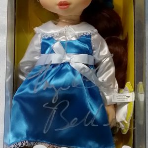 PAIGE O' HARA BELLE SIGNED BEAUTY & THE BEAST DISNEY ANIMATORS DOLL PSA COA