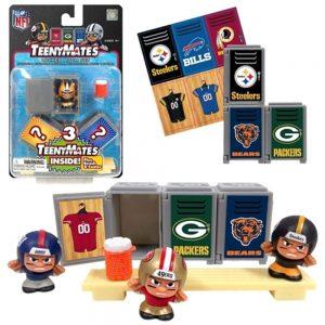 Party Animal Teenymates NFL Series 4 Locker Room Set