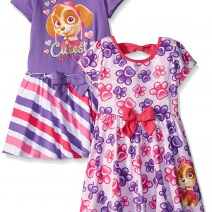 Paw Patrol Girls' 2 Pack Dresses by Nickelodeon
