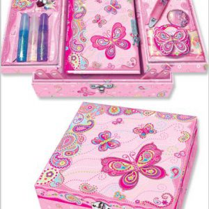 Pecoware Fancy Butterfly Create Your Own Secret Diary Set
