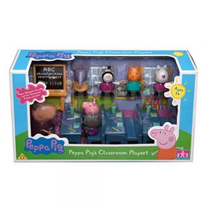Peppa Pig Character Options Classroom Playset