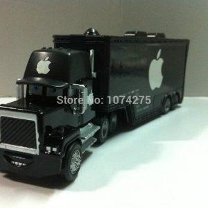 "Pixar Cars Diecast Mack Uncle Truck ""Black Apple"" Metal Toys Cars Gift Toys"