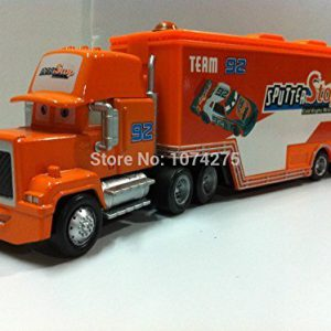 Pixar Cars Mack Uncle No.92 Sputter Stop Racer's Truck Metal Diecast Toys Cars Gift Toys