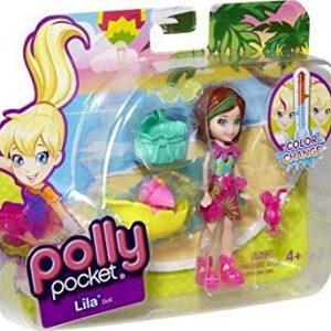 Polly Pocket - Zip 'n Splash - Color Change - LILA