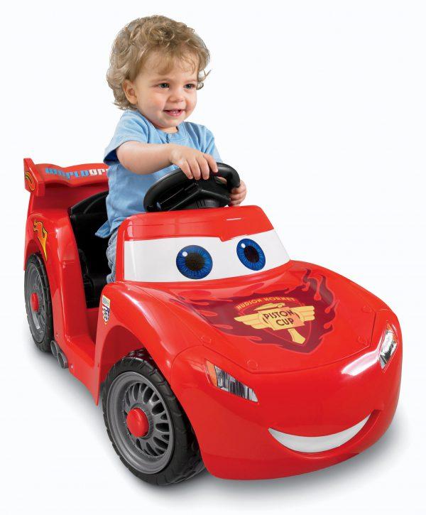 Power Wheels Disney/Pixar Cars 2 Lil' Lightning McQueen (Hudson Hornet Piston Cup)
