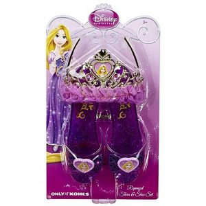 Rapunzel - Disney Princess Rapunzel Tiara and Shoe Set
