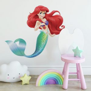 RoomMates The Little Mermaid Peel And Stick Giant Wall Decals