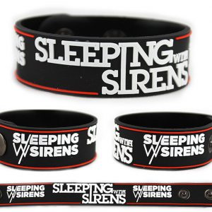 Sleeping with Sirens Rubber Bracelet Wristband V1