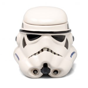 Star Wars Mug - Stormtrooper Helmet 3D Ceramic Coffee Mug with Removable Lid - 20-oz