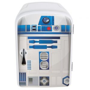 Star Wars R2-D2 4 Liter Mini Fridge Thermoelectric Cooler