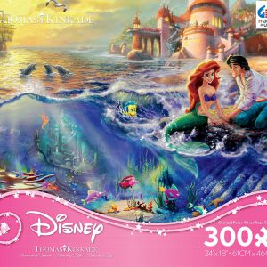 The Little Mermaid - 300 Oversized Piece Jigsaw Puzzle