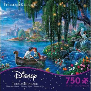 Thomas Kinkade Disney Dreams The Little Mermaid 2 Puzzle (750 Pieces)