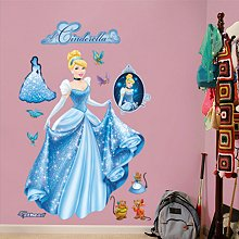 Two (2) Fatheads Combo Deal - (1) Cinderella - From Rags to Riches Fathead and (1) Disney Princess Collection Fathead - SAVE ON BUNDLING!