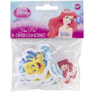 Wilton Fun Pix, Disney Princess Ariel, 24/Pack