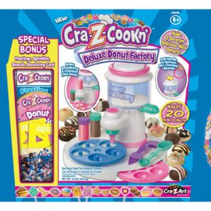 donut maker CRA-z-cookn' Deluxe Super Plus Bonus