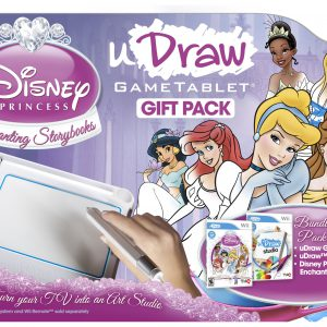 uDraw GameTablet with uDraw Disney Princess: Enchanting Storybooks and uDraw Studio - Nintendo Wii